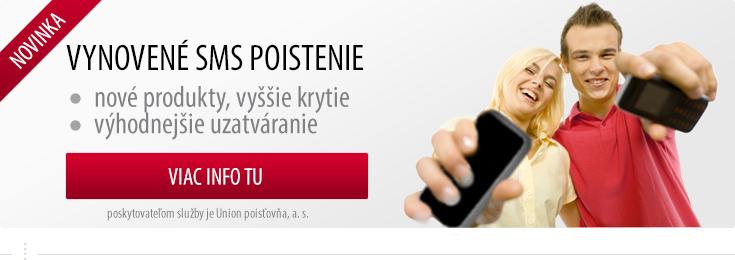 aa57138bf Predstavujeme NOVÉ SMS POISTENIE - Novinky - www.union.sk