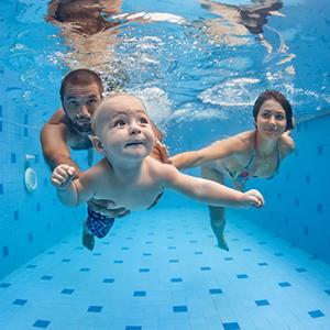 kurz plavania pre babatka