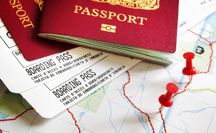 Pas a cestovné doklady