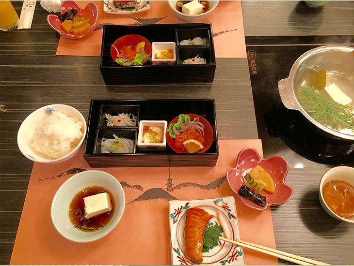 Tradičné japonské raňajky