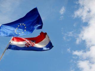 chorvatsko je v eu