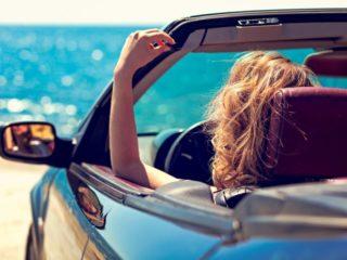 jazdenie autom v horúčave