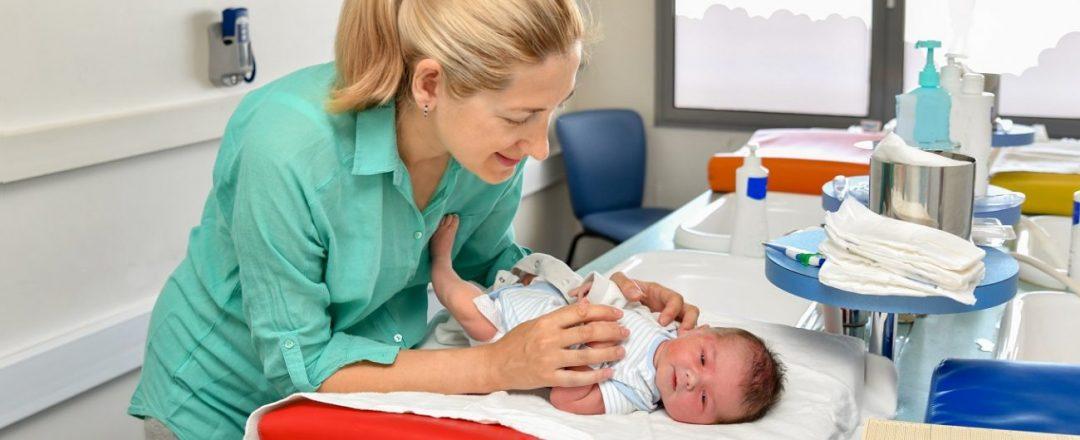 skríning novorodenca